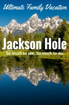 Jackson Hole is your ultimate family vacation. We are here to help you plan your adventure, Contact us for vacation rentals, activities, airfare, and rental cars. We are locals and we know Jackson Hole! www.jacksonhole.net | 1.800.329.9205