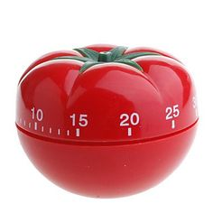 LWW Tomato Shaped 60-Minute Kitchen Cooking Mechanical Timer LWW Fruit and vegetable tools http://www.amazon.com/dp/B00QYHEOEQ/ref=cm_sw_r_pi_dp_5z0Lvb1EWDN83