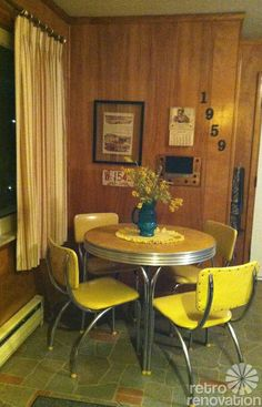 217 vintage dinette sets in reader kitchens - Retro Renovation