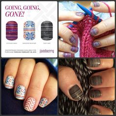 These sweater designs are some of my favorites! You know I'll be getting Buy 3 Get 1 Free of at least one of these before they're gone FOREVER on March 1! http://helpinghands.jamberrynails.net