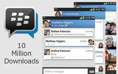 #BBM for Android and iPhone hits 10 Million downloads in its first 24 hours. ~ via cybershack.com