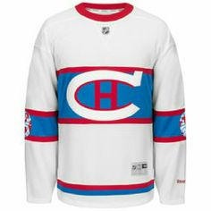 Montreal Canadiens White Winter Classic jersey Fit: Men's Reebok Premier Jerseys are made to layer underneath. For a tighter fit, we recommend ordering one size smaller than your normally wear. Material: 100% Polyester 2-Way stretch mesh body Jock tag Reinforced taped collar seam Machine wash Officially licensed Imported Reebok Tops Sweatshirts & Hoodies