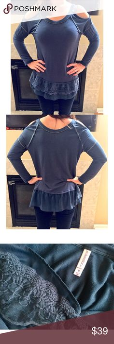 Xhilaration Tunic ✖️ No trades ✖️ No low balling __________________________________ 🌸 Model is 5'2 tall & sizes XS/S 🌸 Excellent used condition/ flawless Xhilaration Tops Tunics