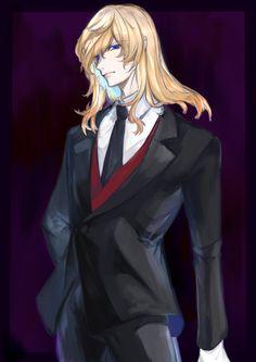 Manga Anime Girl, Cute Anime Boy, Anime Guys, Anime Boy Long Hair, Cadis Etrama Di Raizel, Sleepy Ash, Boys Long Hairstyles, Golden Hair, Noblesse