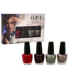 OPI All Stars Mini Lacquer Nail Polish Pack of 4x .125oz Bottles