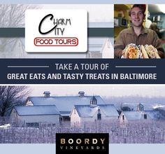 Sustainable Wineries and Historic Neighborhood Food Tours in Baltimore, Maryland
