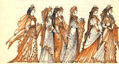 Elena Boariu  - Basmele Apelor Illustration Art, Book Illustrations, Illustrator, Folklore, Illustrators