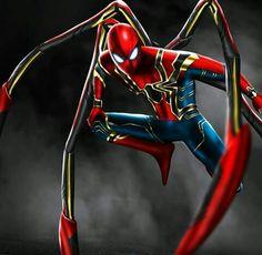 the iron spider suit Marvel Dc, Marvel Fanart, Marvel Comics, Mundo Marvel, Marvel Heroes, Spiderman Movie, Amazing Spiderman, Spiderman Suits, Iron Spider Suit
