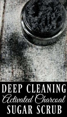 If you want amazing feeling skin, if you want to remove toxins, reduce acne, and have beautiful skin, then this deep cleaning activated charcoal scrub is the scrub for you! skin face skin no makeup skin requires commitment skin secrets skin tips Nu Skin, Face Skin, Oily Skin, Sensitive Skin, Diy Skin Care, Skin Care Tips, Organic Skin Care, Natural Skin Care, Natural Beauty