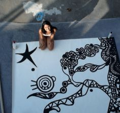 love black and white.  Moira Buzzolani Art