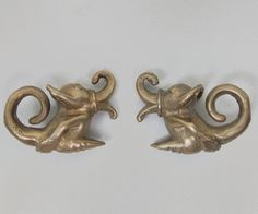 Check out this item in my Etsy shop https://www.etsy.com/listing/212512870/iban-earrings-brass-earweights