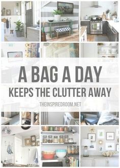Are you ready to take action and get serious about eliminating clutter in your home? I am! Did you read my secret to organization post, yesterday Today, #clutter