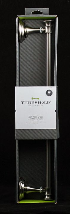 Fifty2 - The My Private Brand Project - Target - Threshold - towel bar