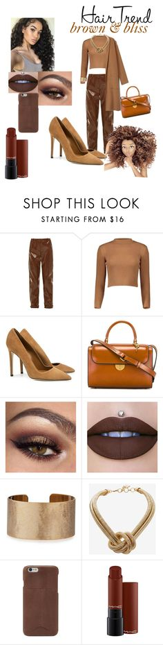 """Untitled #56"" by mssleetahhbaby ❤ liked on Polyvore featuring beauty, Carven, Dee Keller, Maison Margiela, Panacea, BCBGMAXAZRIA, FOSSIL, MAC Cosmetics, hairtrend and rainbowhair"