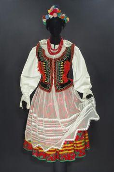 Polish Folk Costumes for Sale Traditional Fashion, Traditional Outfits, Folklore, Polish Folk Art, Krakow Poland, Folk Festival, Costumes For Sale, Folk Costume, Colorful Fashion