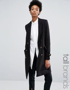 Y.A.S Military Double Breasted Coat