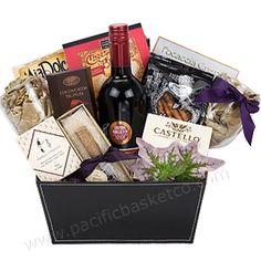 ENTERTAINER GOURMET GIFT BASKET Corporate Gift Baskets, Corporate Gifts, Gourmet Gift Baskets, Gifts For Friends, Entertaining, Gift Ideas, Diy, Bricolage, Diys