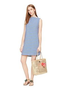 stripe everyday shift dress - Kate Spade New York