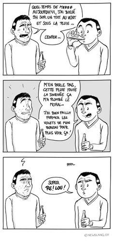 Comic : Au temps pour moi - New Slang