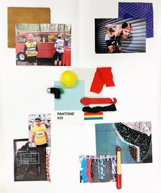 Trend Mood Board Realized During The Investigation Course At Europe Design Institute Barcelona