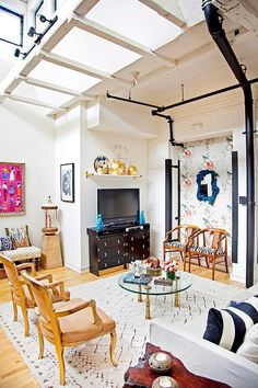Modern Bohemian Loft by Design Manifest