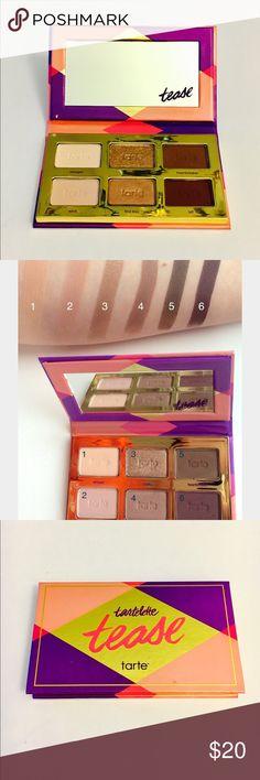 Tartelette Tease Palette Tarte Brand New || Tarte Tartelette Tease Palette tarte Makeup Eyeshadow