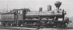 Dampflocomotive B 3/4 Nr. 1634 der Schweizeriſchen Bundesbahnen mit Einrichtung für Holtzfeuerung, bis 1903 Nr. 334 der Jura-Simplon-Bahn, gebaut 1900 inn der Schweizeriſchen Locomotiv- und Machines-Fabrique zů Winterthur (Fabricationsnr. 1243); 1923 außer Dienſt geſtellt und anſchließend abgebrochen.