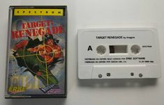 Sinclair ZX Spectrum: Target Renegade (Cassette Erbe)  Spanish version distributed by Erbe of this great game. Please see my previous post about it.  Always loved the way they mistook : for ; in the title . Tags:  #retrogaming #retrogames #sinclair #zxspectrum #spectrum #renegade #nekketsukouhakuniokun #kuniokun #targetrenegade