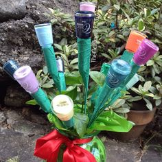 The Nailinator - My Valentine's 2015 Nail Polish Bouquet from my Hubby Voss Bottle, Water Bottle, Pretty Nails, My Nails, Bouquet, Nail Polish, Pastel, Valentines, Nail Art