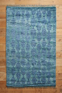 Overdyed Pericon Hand-Knotted Rug