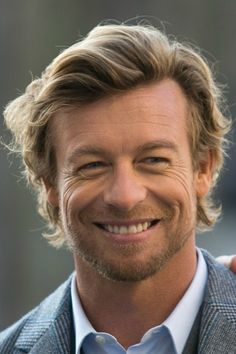 Simon Baker is such an elegant man with so much style and is ageing so gracefully. There's so much kindness in his eyes. I think he's a very elegant, sexy man and obviously a wonderful actor.