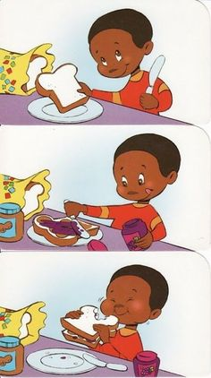 Making pb&j sequence Speech Language Therapy, Speech Therapy Activities, Language Activities, Speech And Language, Preschool Activities, Sequencing Worksheets, Sequencing Cards, Story Sequencing Pictures, Picture Story