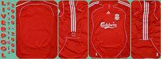 Liverpool 1st 2006-08 Liverpool, Adidas Jacket, Athletic, Jackets, Fashion, Down Jackets, Moda, Athlete, Fashion Styles