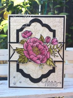 Birthday Blooms and Water Coloring...   Stamping With Class   Janice Urke   Independent Stampin' Up! Demonstrator