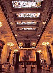 Palacio del Congreso de la Nación Argentina Salon de los pasos perdidos