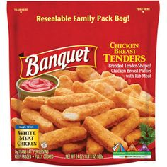 Banquet+Family+Pack+Chicken+Breast+Tenders,+24+oz
