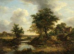 River Scene 1830
