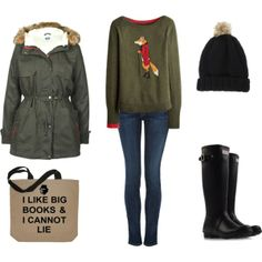 rainy day outfit by irenemusk, via Polyvore