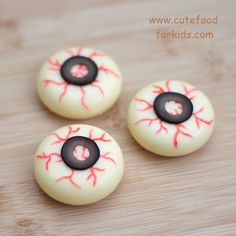 Cheese Eyeballs | 29 Party Snacks That Are Perfect For Halloween