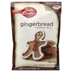 Copycat Betty Crocker Gingerbread Cookie Mix