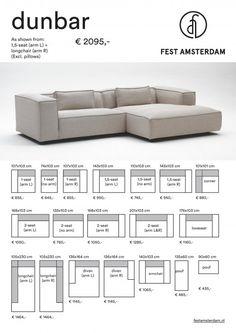 Deko Rotti saved to DekorottiFEST Amsterdam Dunbar modulares Sofa Sofa - Modular Couch, Modular Lounges, Home Decor Furniture, Sofa Furniture, Furniture Design, Modular Furniture, Lounge Sofa, Sectional Sofa, Couches