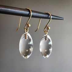 Eternally classic, Ted Muehling's clear crystal berry earring. #tedmuehling #crystal #berryearrings #lovegold #finejewelry #futureheirlooms #augustla