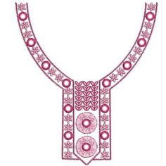 New Neckline Embroidery Designs - New Designs Arrival - EmbroideryShristi Forum Cutwork Embroidery, Embroidery Stitches, Embroidery Patterns, Crochet Patterns, Neckline Designs, Pattern Cutting, Neck Pattern, Cross Stitch Designs, Embellishments