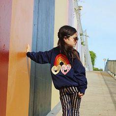 The coolest kid in San Fran Summer Girls, Kids Girls, Toddler Fashion, Kids Fashion, Ginger Kids, Cool Kidz, Fashion Photography Poses, Shorty, Little Fashion