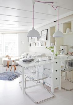 drop leaf table as counter - Small Space Solutions: Furniture Ideas