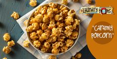 Crossover Caramel Popcorn ~ Trim Healthy Mama Friendly ~ There's no better way to wait for santa's arrival than with a fresh bowl of caramel corn while sitting around the fireplace. Patatas Foster Hollywood, Thm Recipes, Healthy Recipes, Caramel Corn Recipes, Trim Healthy Mama Plan, Healthy Peanut Butter, Granola, Healthy Snacks, Appetizer Recipes