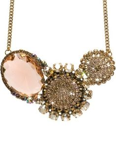 Rose and Gold Necklace
