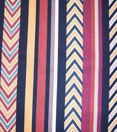 45'' Home Essentials Fabric-Nevada Multi Stripe