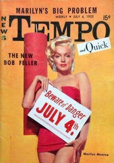 News Tempo Quick 1955 (USA) Marilyn Monroe