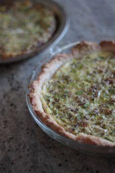 leek and sausage quiche – Bran Appetit